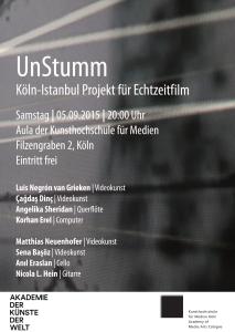 UnStumm-Poster